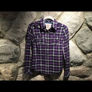 ⭐️3 For $10 Button Down Plaid Shirt - Juniors